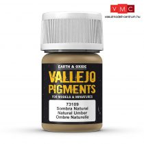 Vallejo 73109 Natural Umber (pigment) - 30 ml (Panzer Aces)