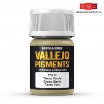 Vallejo 73111 Green Earth (pigment) - 30 ml (Panzer Aces)
