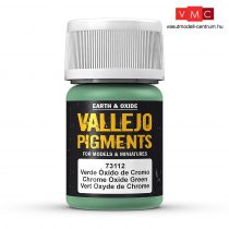 Vallejo 73112 Chrome Oxide Green (pigment) - 30 ml (Panzer Aces)