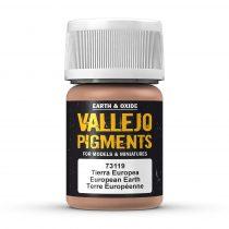 Vallejo 73119 European Earth (pigment) - 30 ml (Panzer Aces)