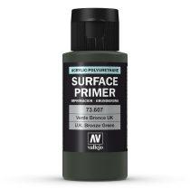 Vallejo 73607 UK Bronze Green Surface Primer, 60 ml