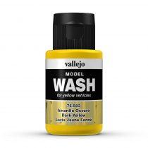 Vallejo 76503 Dark Yellow Wash (model wash) - 35 ml (Panzer Aces)