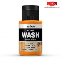 Vallejo 76505 Light Rust Wash (model wash) - 35 ml (Panzer Aces)