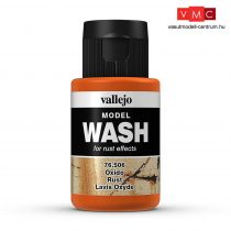 Vallejo 76506 Rust Wash (model wash) - 35 ml (Panzer Aces)