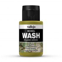 Vallejo 76512 Dark Green Wash (model wash) - 35 ml (Panzer Aces)
