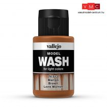 Vallejo 76513 Brown Wash (model wash) - 35 ml (Panzer Aces)
