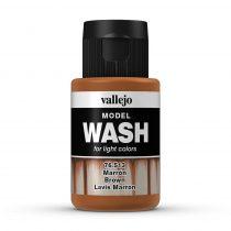 Vallejo 76513 Brown Wash (model wash) - 35 ml (Panzer Aces)