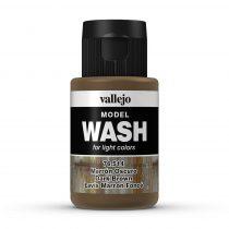 Vallejo 76514 Dark Brown Wash (model wash) - 35 ml (Panzer Aces)