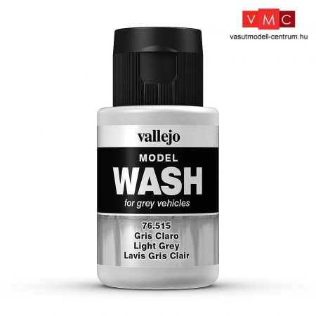 Vallejo 76515 Light Grey Wash (model wash) - 35 ml (Panzer Aces)