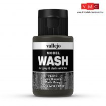 Vallejo 76517 Dark Grey Wash (model wash) - 35 ml (Panzer Aces)
