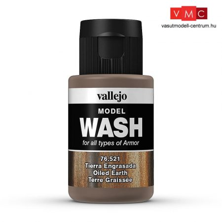 Vallejo 76521 Oiled Earth (model wash) - 35 ml (Panzer Aces)