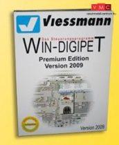 Viessmann 1009 WIN-DIGIPET vonatvezérlő szoftver - Update, Pro X/Premium Edition