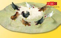 Viessmann 1528 Mozgó csirkeudvar (H0)