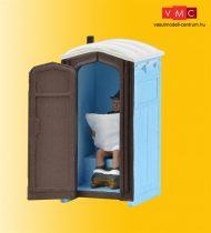 Viessmann 1545 Mobil wc figurával - mozgó ajtóval (H0)