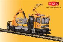 Viessmann 2618 Robel 54.22 pályafenntartó vasúti jármű áramszedővel, működő emelőkos