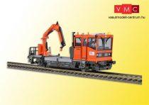 Viessmann 2621 Robel 54.22 pályafenntartó vasúti jármű működő daruval, ÖBB (H0) (E6) -