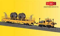 Viessmann 2680 Unimog pályafenntartási jármű teherkocsival, DCC/MM (H0)