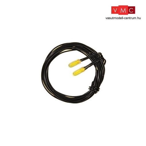 Viessmann 3501 Izzó sárga, 2 db T3/4 Ø 2,3 mm 2 kábel, 12 V