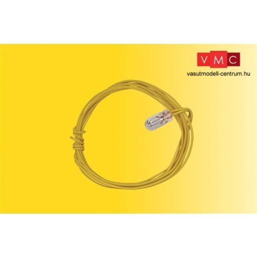 Viessmann 3505 Izzó, átlátszó T 1 Ø 3,2 mm 2 kábel, 16 V