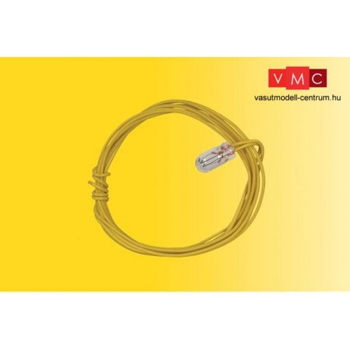 Viessmann 3507 Izzó sárga, 2 db T1/2 Ø 1,8 mm 2 kábel, 16 V