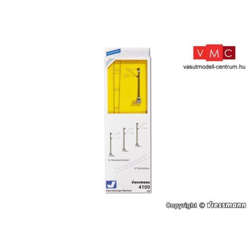 Viessmann 4100 Felsővezeték kezdőkészlet (H0)