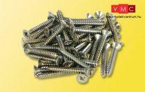 Viessmann 4178 Csavar a tartóoszlopokhoz, 2,2x16 mm, 50 db