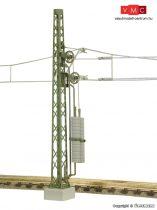 Viessmann 4264 Tartóoszlop kerekes feszítőművel