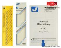 Viessmann 4300 Felsővezeték kezdőkészlet