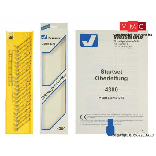 Viessmann 4300 Felsővezeték kezdőkészlet (N)