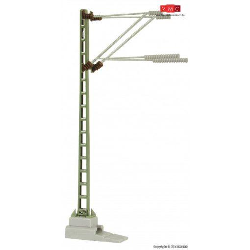 Viessmann 4313 Tartóoszlop felsővezetékhez, vonali oszlop, dupla karral (N)
