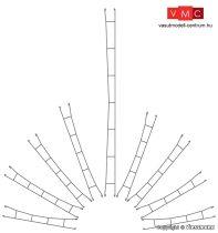Viessmann 4331 Felsővezeték/munkavezeték 222,0 mm/3 db