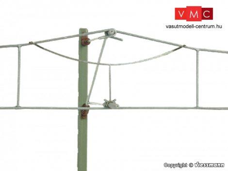 Viessmann 4370 Felsővezeték Y-kötél, 10 db
