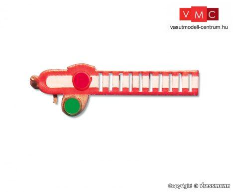Viessmann 4522 Jelzőtárcsa ÖBB alak-főjelzőkhöz, 1 db, felső jelzőtárcsa (H0)