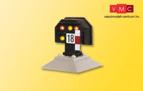 Viessmann 4728 Fény-vágányzárjelző, törpe kivitel, Multiplex (H0)