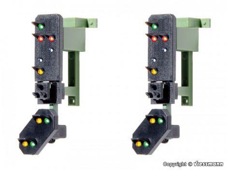 Viessmann 4751 Multiplex-fény kijárati jelző előjelző, függeszthető, 2db (H0)