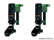 Viessmann 4753 Multiplex-fény bejárati jelző előjelzővel, függeszthető, 2db (H0)