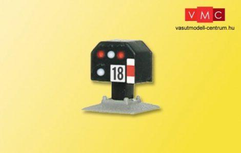 Viessmann 4818 Fény-vágányzárjelző, törpe kivitel (Z)