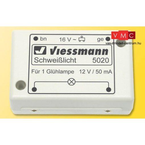 Viessmann 5020 Hegesztőfény imitáló vezérlőmodul, izzóval