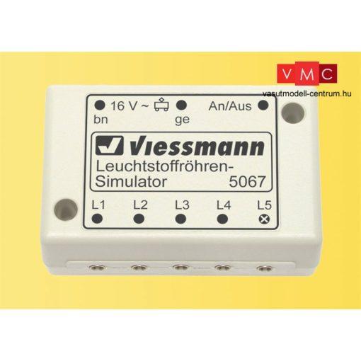 Viessmann 5067 Neoncsövek fényét imitáló vezérlőmodul