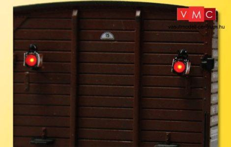 Viessmann 5069 Végzárlámpa világítással (2 db) LED