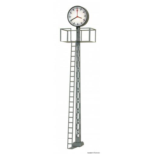 Viessmann 5081 Világító állomási óra, rácsos oszlopon