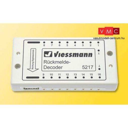 Viessmann 5217 Visszajelentő-modul, s88-Bus-hoz