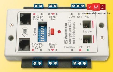 Viessmann 5229 Multiplexer vezérlőmodul fényjelzőkhöz