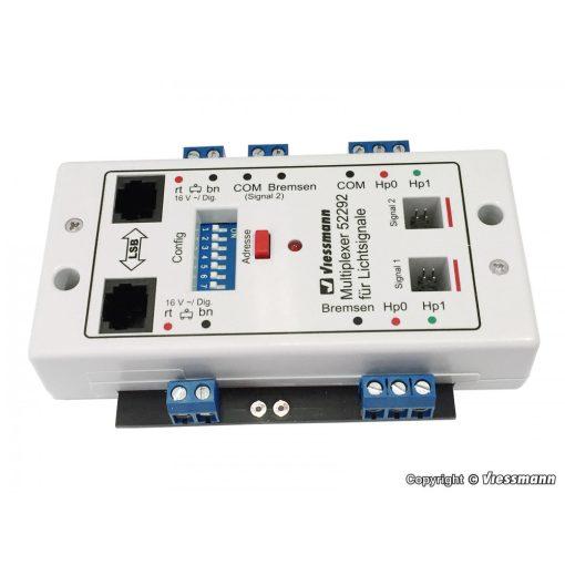 Viessmann 52292 Dupla Multiplex vezérlőmodul két fényjelzőhöz