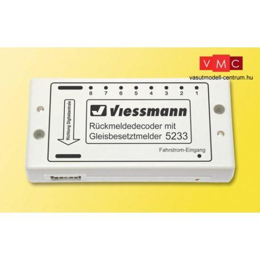 Viessmann 5233 Vágányfoglaltsággal egyesített visszajelentő dekódermodul, s88