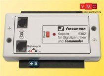 Viessmann 5302 Összekötő panel a digitális központ és a Commander között