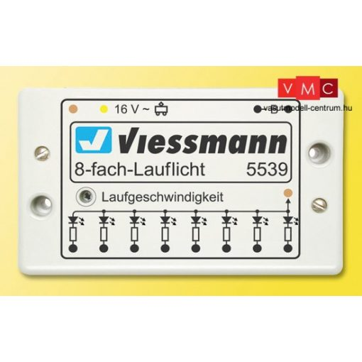 Viessmann 5539 Futófény vezérlőmodul, 8 bekötési lehetőség