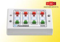 Viessmann 5549 Univerzális-kapcsolópult 8 db visszajelentéssel