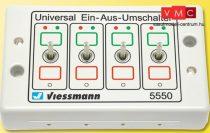 Viessmann 5550 Univerzális-kétállású kapcsolópult