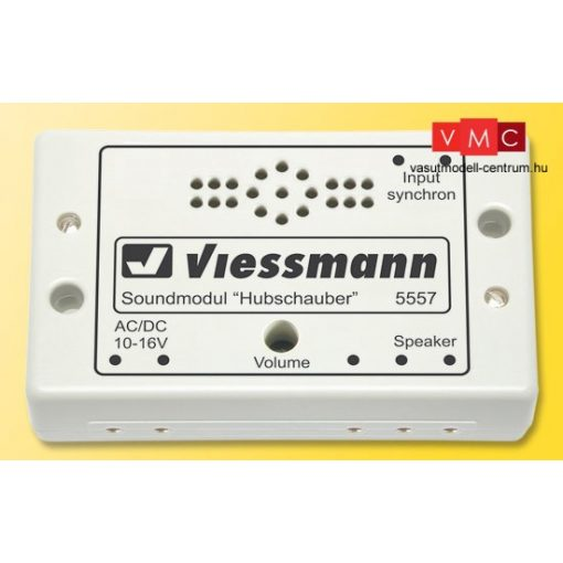 Viessmann 5557 Hangmodul, helikopter